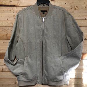 NWT INC International Concepts denim Khaki Jacket